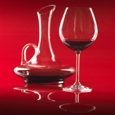 Decanter e taca